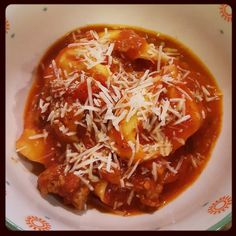 Food: Under Pressure: One Pot Tortellini with Meat Sauce [Instant Pot Pressure Cooker]