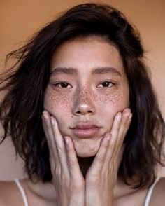 "arisjerome: ""Chloe by Aris Jerome "" (face, ish) Suki Avatar, Pretty People, Beautiful People, Asian Eye Makeup, Fresh Makeup, Asian Eyes, French Hair, Raw Beauty, Model Face"