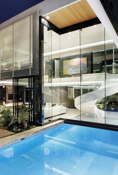 Architecture Beast: Modern Mansion With Perfect Interiors by SAOTA | #archibeast #explorearchitecture #architecture #house #home #modern #facade #SAOTA