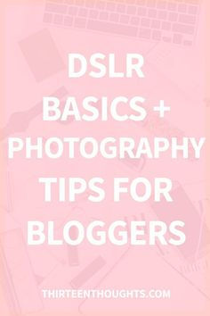 Photography tips for bloggers. Photography is a huge part of blogging, there's no denying that. I think that one of my favorite aspects of having a blog is *** Be sure to check out this digital camera.