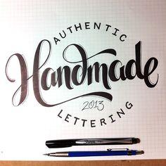 handlettering workbook 2 by Jason Vandenberg, via Behance