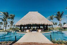 Destination Wedding - Punta Cana | Ana e Giancarlo Punta Cana, Gazebo, Exterior, Outdoor Structures, Patio, Destination Weddings, Outdoor Decor, Catholic Wedding, Flower Petals