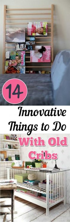 Things to Do With Old Cribs, Furniture Projects, How to Repurpose Cribs, Cool Ways to Repurpose Cribs, DIY Furniture Projects, Unique Repurpose Projects, Old Cribs, Old Cribs DIY, Easy Furniture DIY Projects, Popular Pin.