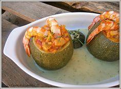 La Cocina de los inventos: Calabacines rellenos de Ajoarriero con Bacalao