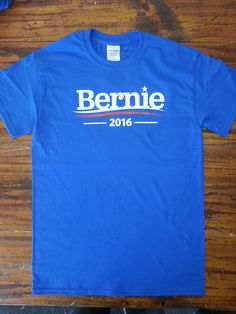 802 Clothing Company (Lovermont802) — Bernie 2016 - Bernie Sanders T-Shirt - Feel The Bern - Bernie for President
