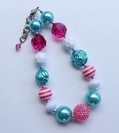 Chunky little girl necklace (18)