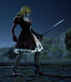 Monica from Vampires Vs. Dragons. Made using Creation mode in Soulcalibur 6. benjaminfrog.com #soulcalibur #custom #vampire Soul Calibur, Vampires, Dragons, My Books, Fictional Characters, Collection, Train Your Dragon, Kite, Vampire Bat