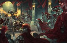 Attack on the Crimson liesetiawan paizo by LieSetiawan on DeviantArt