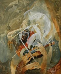 View Violonistes et danseuse by Roger Suraud on artnet. Browse upcoming and past auction lots by Roger Suraud. Composition Art, Various Artists, Tree Art, Optical Illusions, Beautiful Paintings, Faeries, Surrealism, Mystic, Cool Photos
