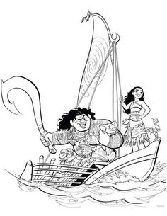 20 coloring pages of Moana on Kids-n-Fun.co.uk. On Kids-n-Fun you will always find the best coloring pages first!