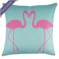 Flamingo Pillow I
