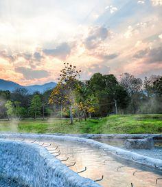 San Kamphaeng Hot Springs - Chiang Mai, Thailand