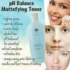 Ph Balance Toner primes skin for hydration. Featuring strawberry extract to ruturn skin to its ideal pH while helping diminish the appearance of pores. Nu Skin, Oily Skin, Big Pores, Tighten Pores, Toner For Face, Alcohol Free, Beauty Secrets, Skin Care, Makeup