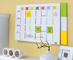 Love the post-it note planner to help students manage their homework, projects, etc. Doesn't have to be used as a weekly, can be used as a monthly.