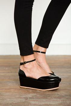 Flatforms - #JeffreyCampbell #suebee #flatform #shoes