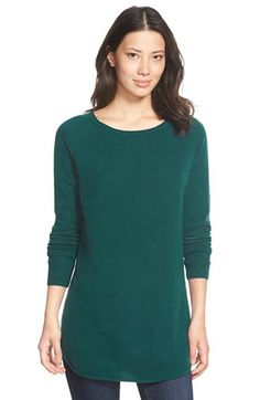 Watch for further price reduction. Free shipping and returns on Halogen® Shirttail Wool & Cashmere Boatneck Tunic (Regular & Petite) at Nordstrom.com. Available in a stack of colors, a soft knit blended from wool and cashmere amps up the coziness of a staple tunic in a modern shirttail-hem cut. Tiny pointelle stitches atop the shoulders lend a delicate touch.