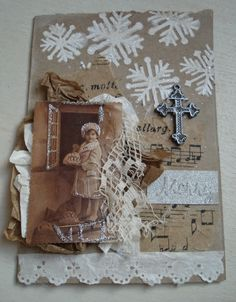 Den Lille Lade: I HOPE YOU CAN TOLERATE A FEW MORE CHRISTMAS CARDS , DEAR FRIENDS!!