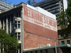 Melbourne Shipping Company ghost sign