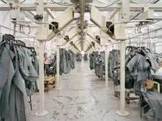 textile factory, Christopher Payne