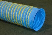 Do you know why it's really worth it to purchase Sure Grip Dog Agility Tunnels? They are the only tunnels in the world that have an embossed textured running surface providing added traction to help reduce slipping and rolling. 1. More durable and longer lasting. 2. Thicker UV resistant PVC fabric and stronger wires. 3. The wires are heat welded to the fabric, not glued. 4. Weatherproof, mildew & rot resistant. 5.Only pipe tunnel with a 2-year warranty against defects or wear. Price $370.00