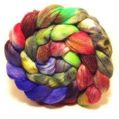 Galatea 1  Merino/silk top roving fiber for by ShadawynFiberArts, $25.00