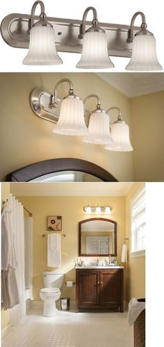 Bathroom Lighting Ebay wall fixtures 116880: canarm milo 3-light chrome bath light