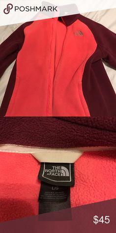 Fleece North Face jacket Fleece North Face jacket. Worn a few times. North Face Jackets & Coats