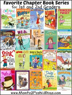 20 chapter books perfect for first and second grade - encourage & graders to have fun while reading and uncover beloved characters Kids Reading, Reading Activities, Teaching Reading, Reading Lists, Teaching Ideas, Reading Club, Sequencing Activities, Children Activities, Reading Groups