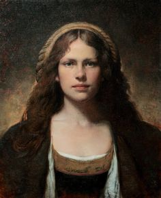 Colleen Barry, Julia (the artist's sister) oil on linen Renaissance Kunst, Figurative Kunst, Psy Art, Arte Sketchbook, Oil Portrait, Classical Art, Figure Painting, Oeuvre D'art, Art History