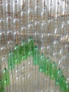 Eco greenhouse from plastic bottles « Red Kite