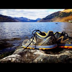 The New Balance MT-110 a 100 mile ultra running shoe.