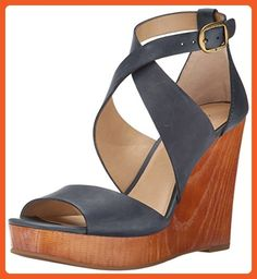 Lucky Women's Lyndell Wedge Sandal, Moroccan Blue, 8.5 M US - Sandals for women (*Amazon Partner-Link)