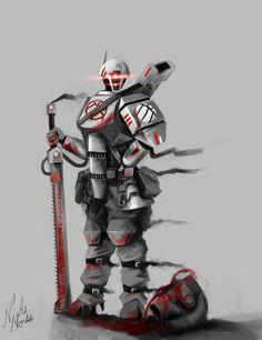 tash'var close combat fire warrior by Mizoro on DeviantArt