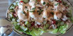 Een heerlijke salade voor allerlei gelegenheden en voor op een gewone warme dag.