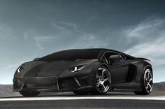 Mansory tuner brings Lamborghini Aventador LP700-4 to the dark side