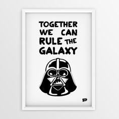 """Epic Design Shop """"Darth Vader"""" Poster mit Darth Vader-Print"""