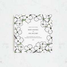 Spring Blossom Wedding Invitation