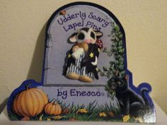 Enesco Mary's Moo Moos Halloween Udderly Scary Cow by 3JsStuff