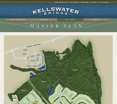 "Kellswater Bridge Interactive Master Plan. At www.kellswater.com, you'll see how our pocket #parks, walking #trails, tree-lined streets and front #porches give you the small-town feel you're craving...and features like our multi-million-dollar Kellswater Club offer the exclusive, ""big city"" amenities you've always dreamed of.  And all within 20 minutes of #uptown #Charlotte, #NC - you really *can* have it all!"