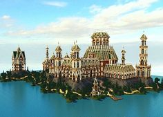The Palace of Daibahr bouiyait minecraft building ideas tower 2