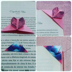 #origami #bookmark #marcadordelivro #book #livro #blogeuinsisto