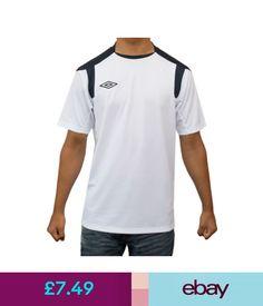 df9f1b5eca T-Shirts Umbro Mens T-Shirt Sports Running Football Gym Fitness Training Top  &