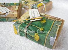 Jabón artesanal para cabello Henna y Yema de Huevo : El Jabón Casero