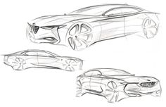 Various Sketches by Michael McGee, via Behance