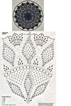 Free Crochet Doily Patterns, Crochet Mat, Crochet Diagram, Crochet Squares, Thread Crochet, Crochet Doilies, Crochet Stitches, Crochet Dreamcatcher, Crochet Hair Accessories