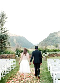 Culturally elegant wedding in Aspen: Photography: Lacie Hansen - laciehansen.com   Read More on SMP: http://www.stylemepretty.com/2016/09/19/cultural-wedding-in-colorado/