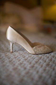 Pretty wedding shoes