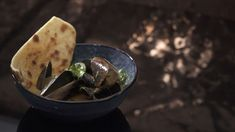 Coconut Curry Mussels with Flatbread Also Chilled Lemon Souffle My Kitchen Rules, Souffle Dish, Kaffir Lime, Ground Turmeric, Fish Curry, Canned Coconut Milk, Coriander Seeds, Curry Paste