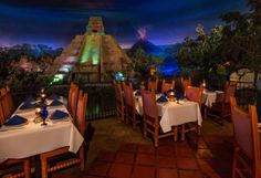 Epcot's San Angel Inn Review- Dine Next to the Gran Fiesta Tour Starring the Three Caballeros