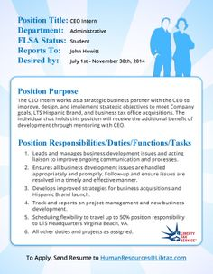 Looking for an internship?